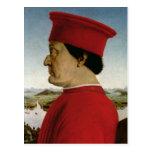 Federigo da Montefeltro  Duke of Urbino, c.1465 Postcards