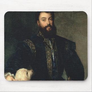 Federigo Gonzaga, Duke of Mantua, c.1525-30 (oil o Mouse Pad