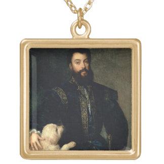 Federigo Gonzaga, duque de Mantua, c.1525-30 (acei Colgante Cuadrado