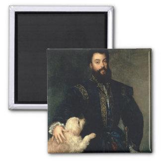 Federigo Gonzaga duque de Mantua c 1525-30 acei Imán De Nevera