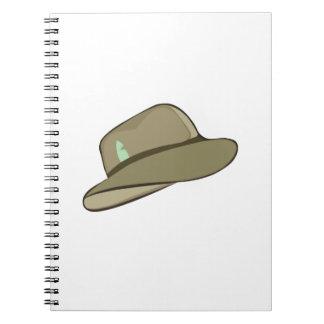 Fedora Hat Notebook