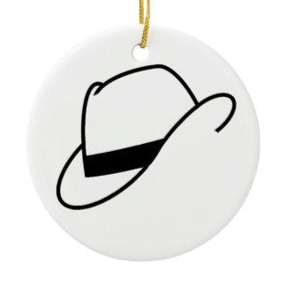 Fedora Hat Ornament