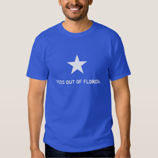 """""""Feds Out Of Florida"""" Bonnie T-Shirt"""