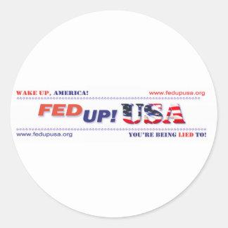 FedUpUSA Gear Stickers