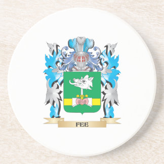 Fee Coat of Arms - Family Crest Coasters