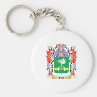 Fee Coat of Arms - Family Crest Keychain