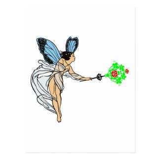 Fee fairie postcard