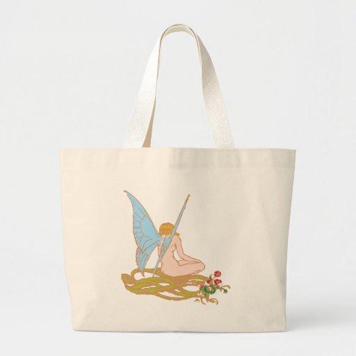 Fee fairy jumbo tote bag