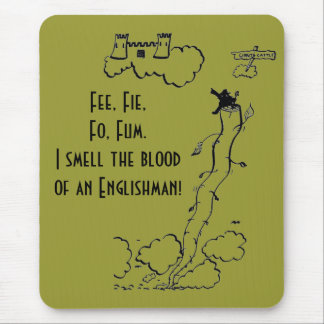 Fee, Fie, Fo, Fum! Mouse Pad