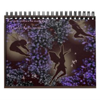 fée  Laisse entrer la magique le temps d'... Calendar
