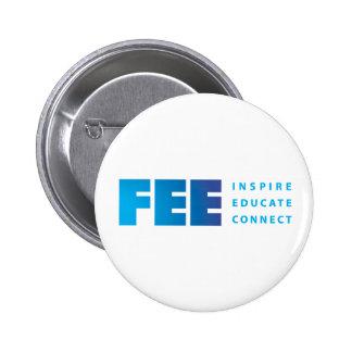 FEE_tag_RGB gradient tag shirt.ai Pinback Button