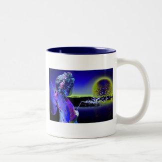 Fee Two-Tone Coffee Mug