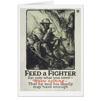 Feed A Fighter Card