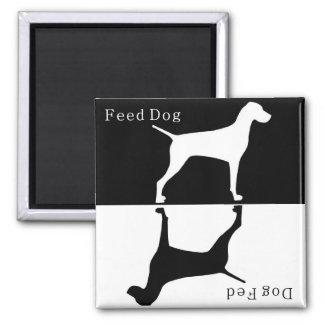 Feed Dog / Dog Fed Magnet : Pointer / Visla