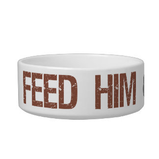 Feed Him or Freedom Pet Bowl