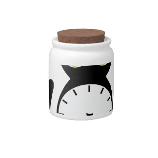 Feed Kitty Candy Jar
