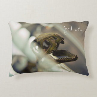 feed ME. Accent Pillow