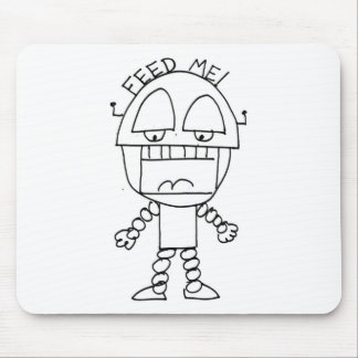 Feed Me Bot Mouse Pad