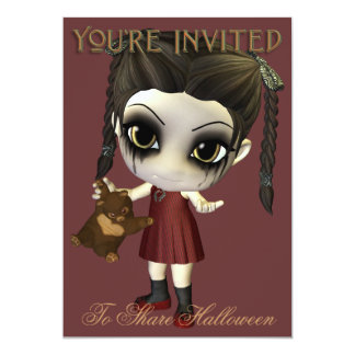Feed Me Candy Halloween Party Invitation