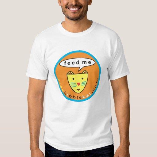 """Feed Me"" Cat Logo Tee"