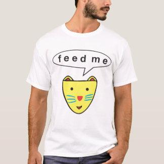 """""""Feed Me"""" Cat Tee Shirt"""
