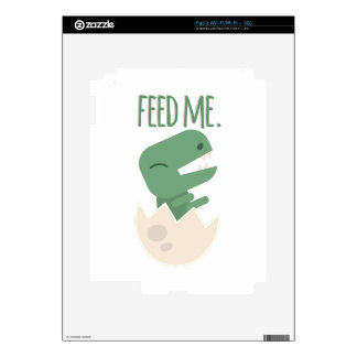 Feed Me Decals For iPad 2