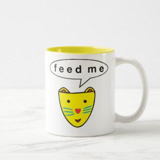 """""""Feed Me"""" Dog Mug"""