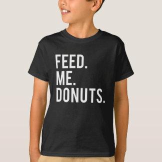 Feed Me Donuts Print T-Shirt