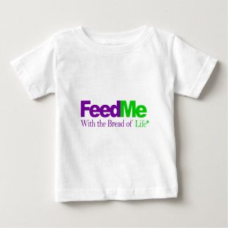 Feed Me (Green): Delivery Parody Baby T-Shirt