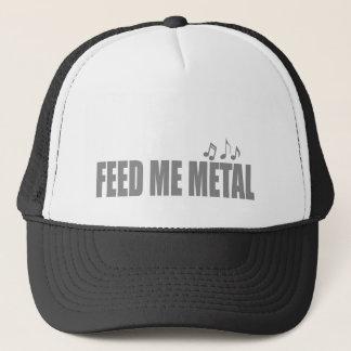 Feed me HEAVY METAL Music Trucker Hat