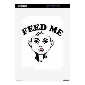 Feed Me iPad 2 Decals