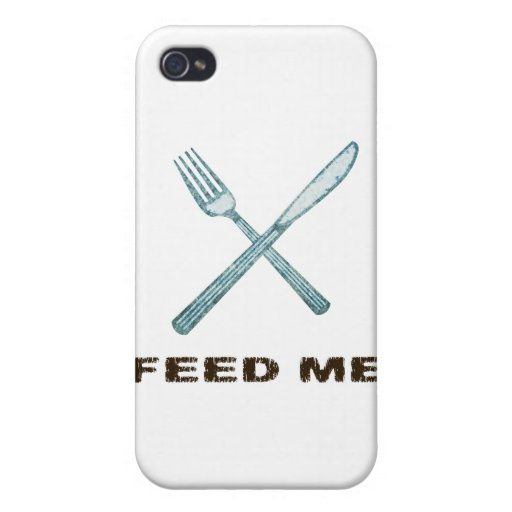 Feed Me iPhone 4/4S Cases