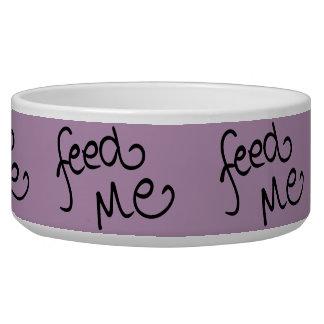 Feed Me (lavender) Bowl