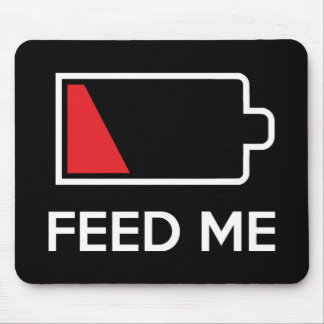 Feed Me Low Power Battery Mouse Pad