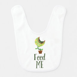 Feed Me • Monster baby bib