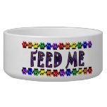 """""""FEED ME"""" Pet Dish Dog Bowl"""