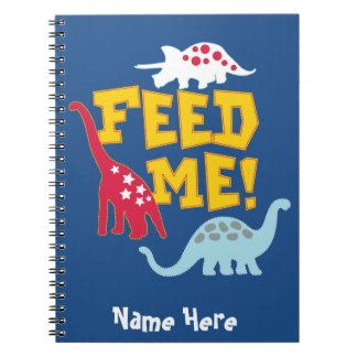 Feed Me Photo Notebook