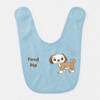 Feed Me Puppy Bibs