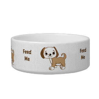 Feed Me Puppy Cat Bowl