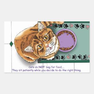Feed ME! Rectangular Sticker