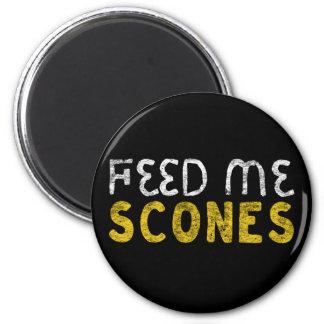 Feed me scones magnet