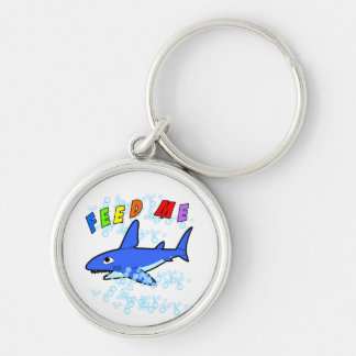 Feed Me Shark Keychain