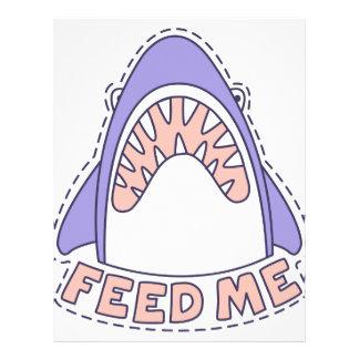 Feed Me Shark Letterhead