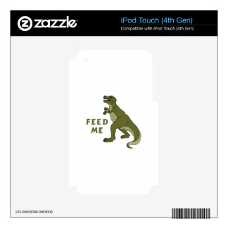 Feed Me iPod Touch 4G Skin