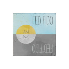 Feed Pets Rotating Kitchen Magnet Reminder at Zazzle