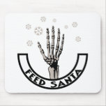 Feed Santa Mouse Pad