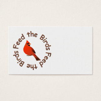 FEED THE BIRDS BUSINESS CARDS