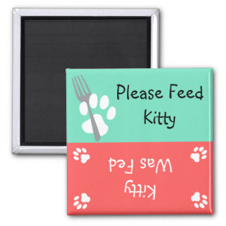 Feed the Cat Magnets
