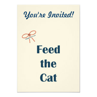Feed the Cat Reminders Card