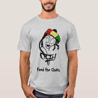 Feed the Chains, Rasta Basket T-Shirt